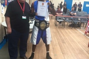Title Winner Reading Boxing Club