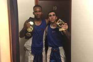 Two Title Winners Reading Boxing Club